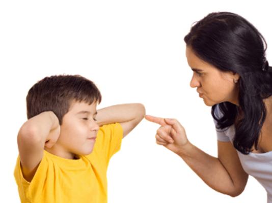 Trẻ không vâng lời